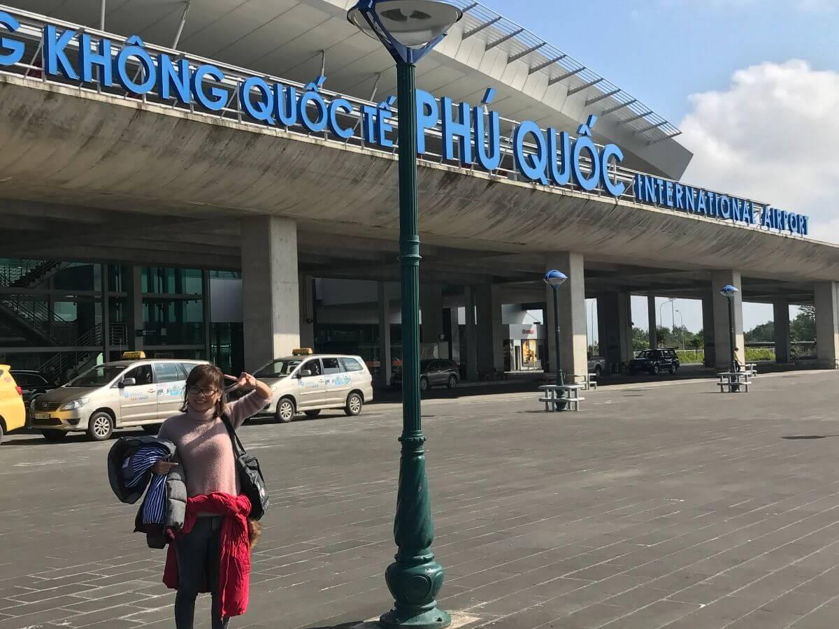 ベトナム ビーチ リゾート Phu Quoc Island フーコック島 空港