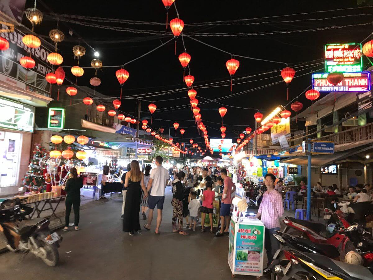 ベトナム ビーチ リゾート Phu Quoc Island フーコック島 ナイトマーケット