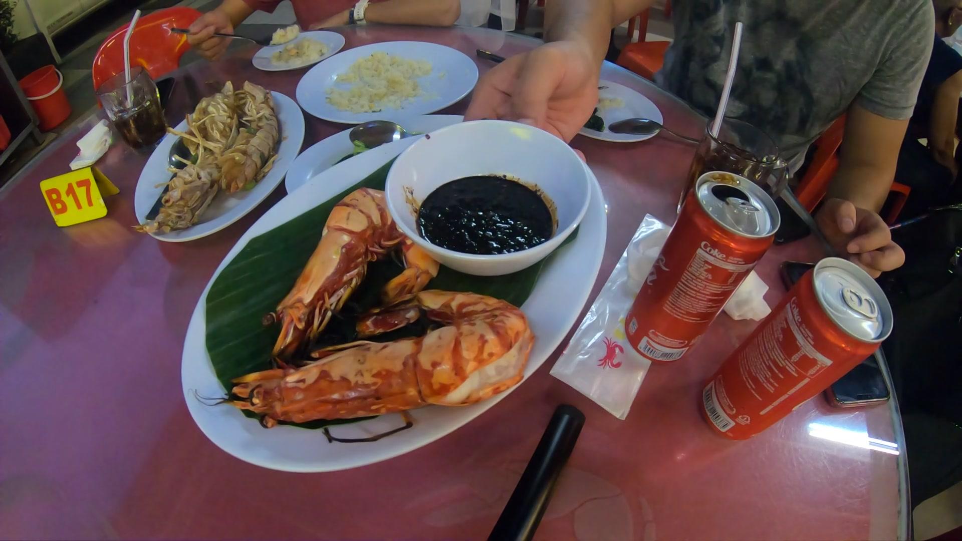 コタキナバル 食事