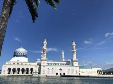 ボルネオ島(コタキナバル) モスクに感動!