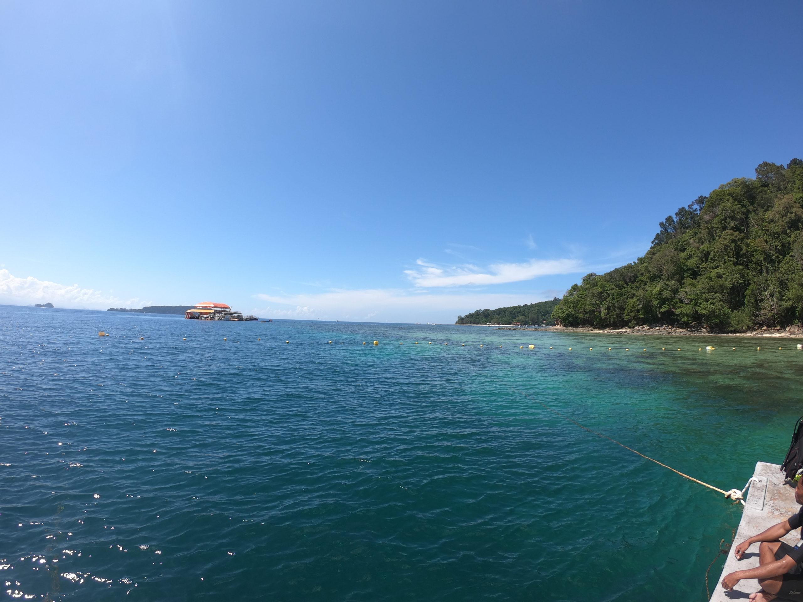 ボルネオ島 シーウォーキング