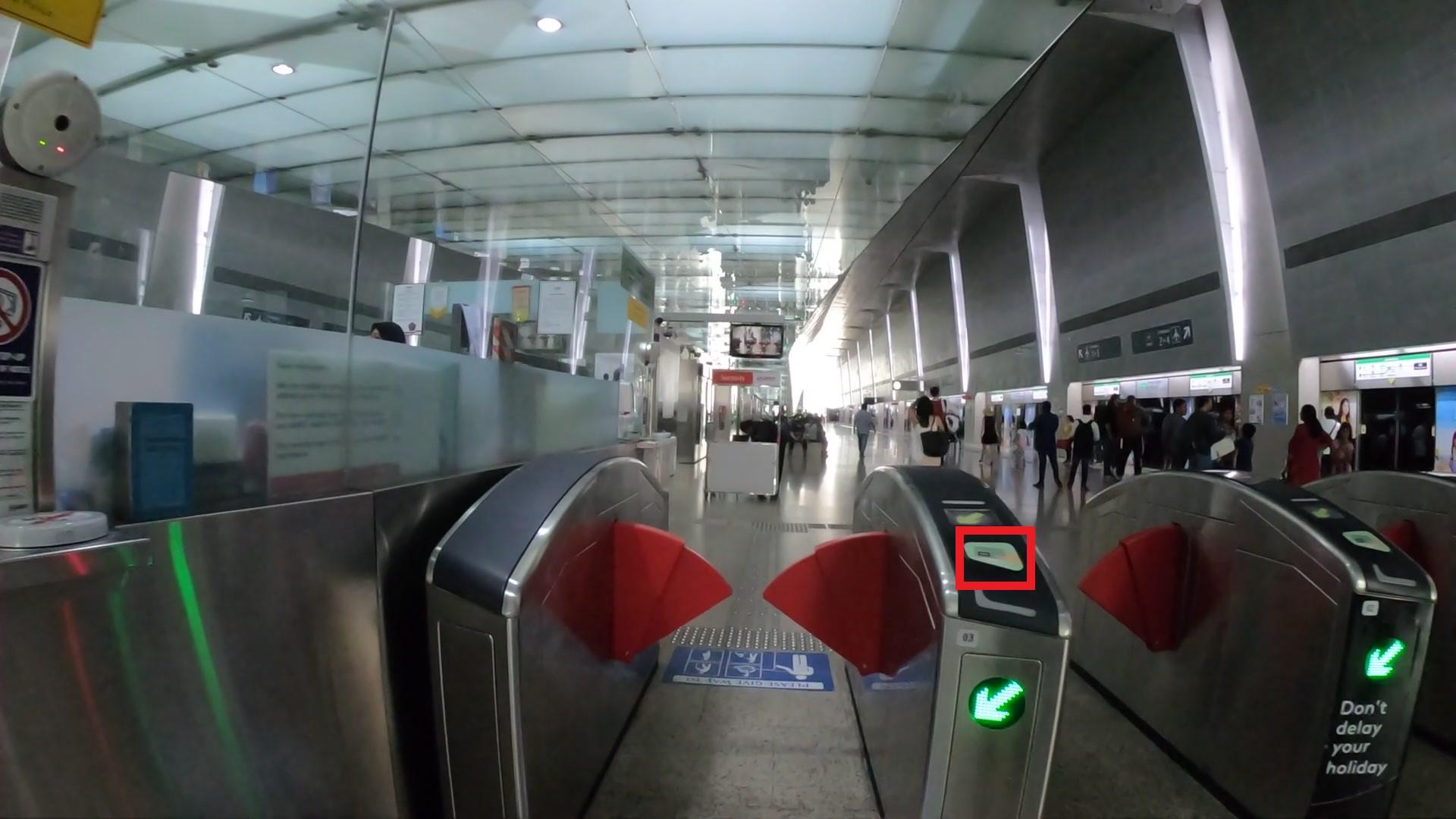 MRT シンガポール 乗る方法