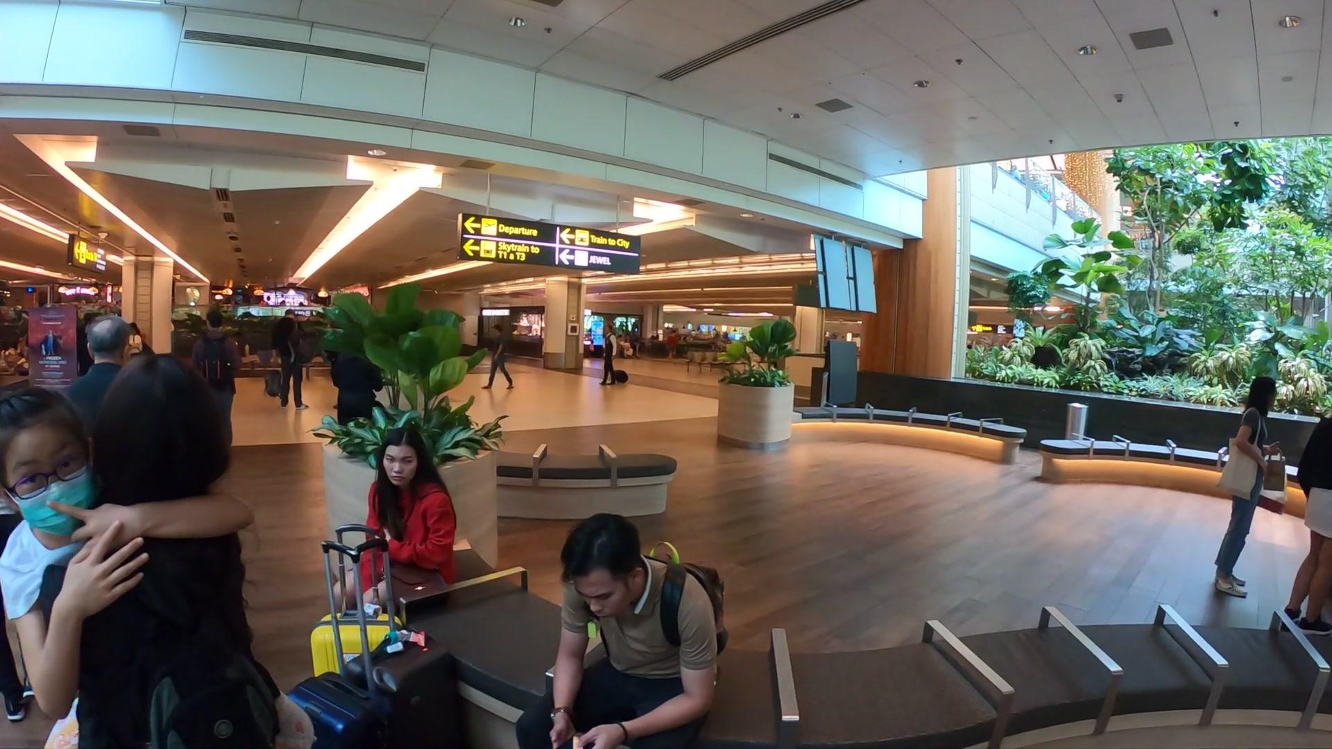 チャンギ国際空港(Changi Airport) MRT 行き方