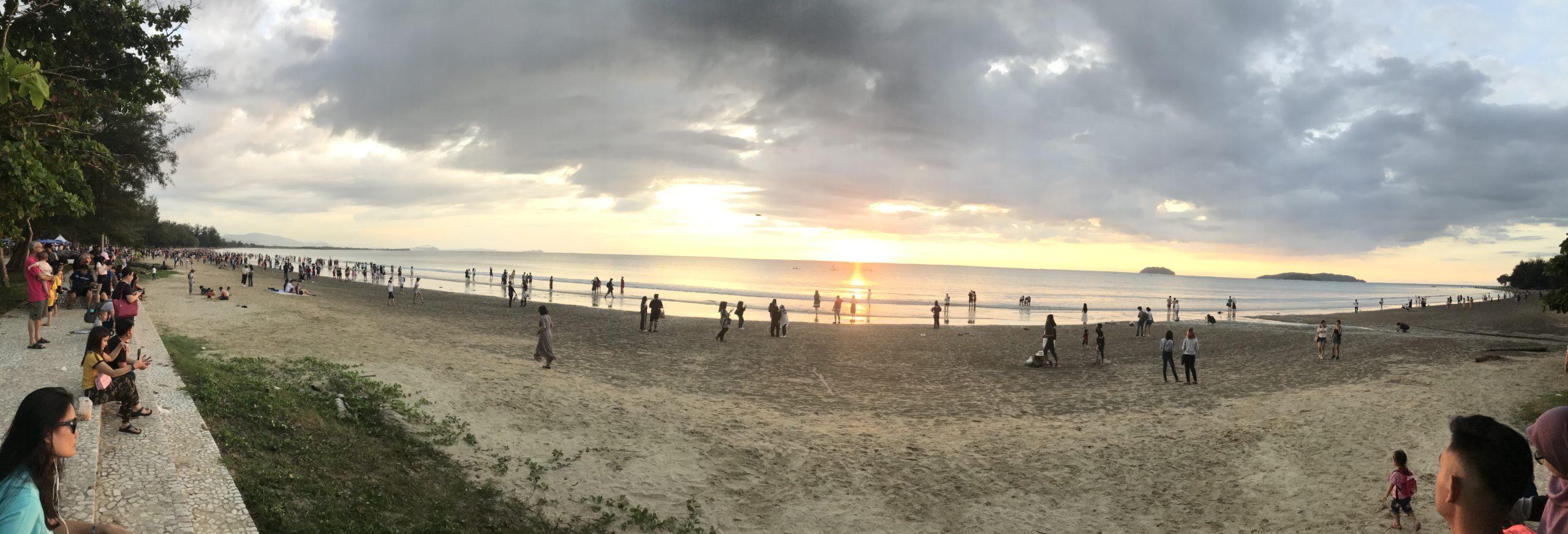 Tanjung Aru(タンジュン・アル) サンセット