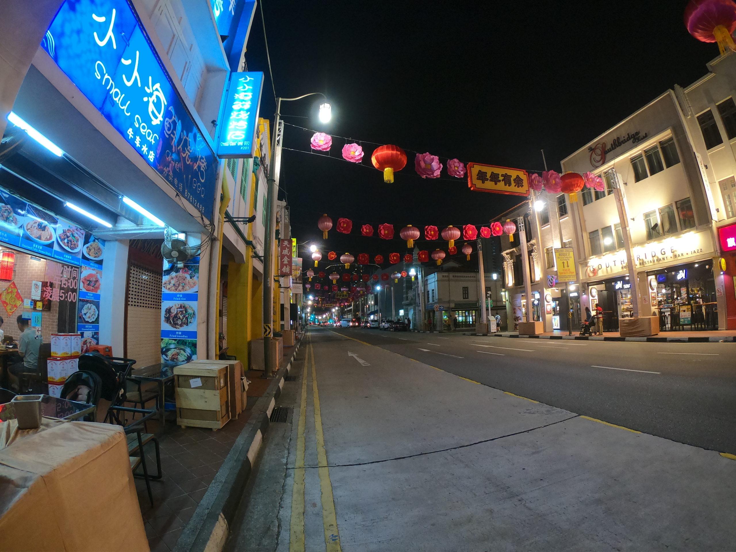 シンガポール チャイナタウン