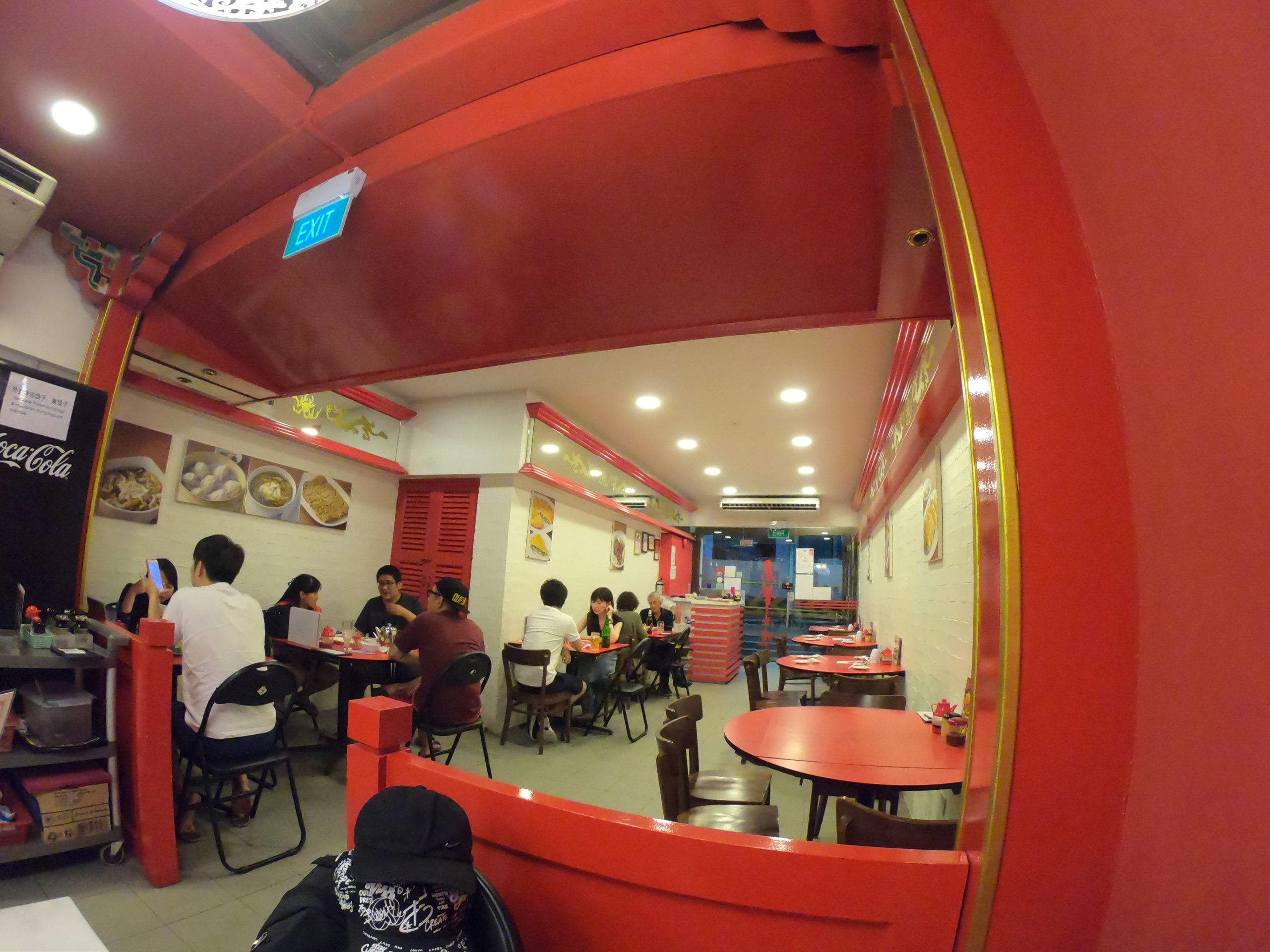 京華小包(ジンファー シャオチー)シンガポール 食事