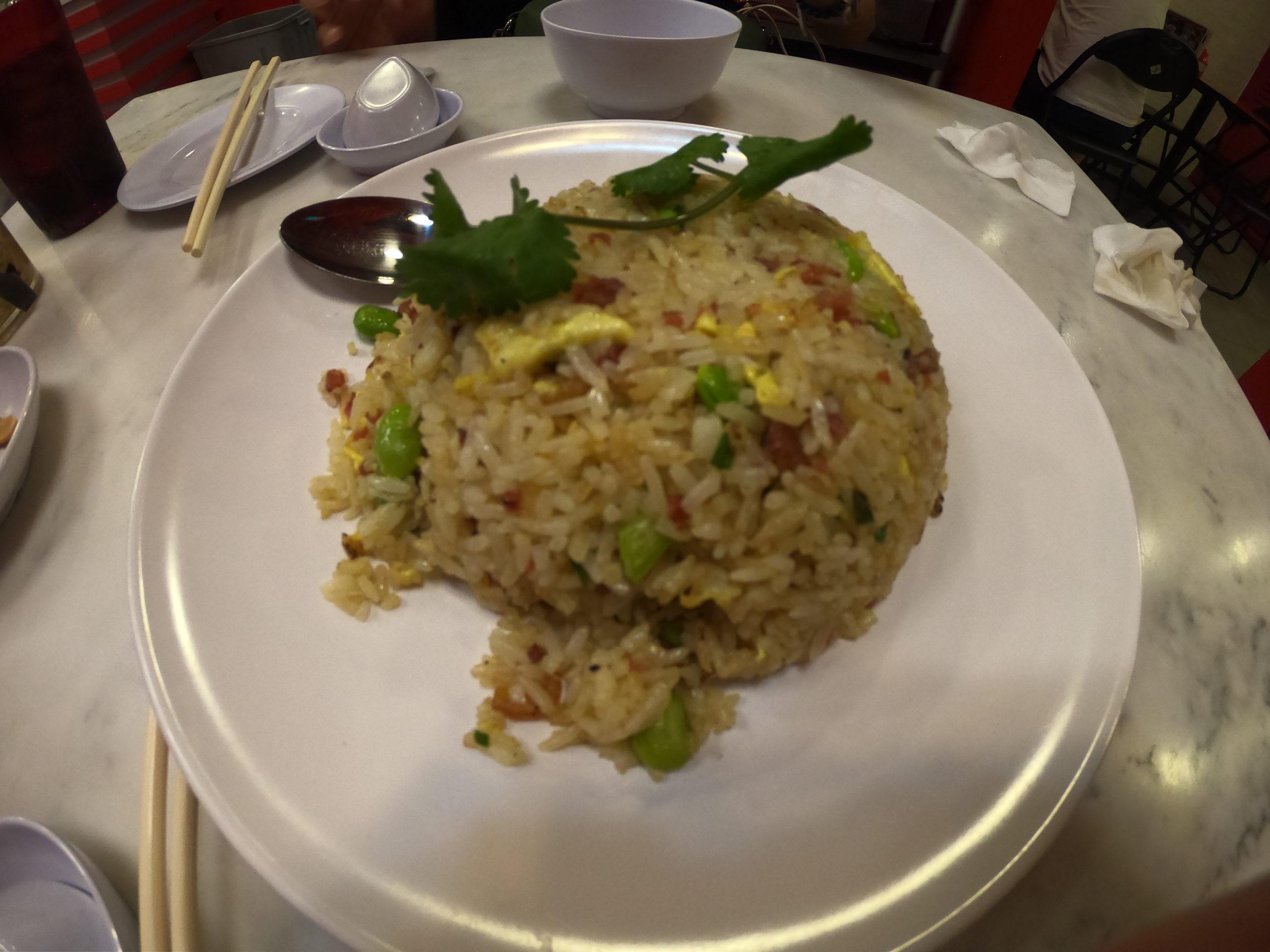 京華小包(ジンファー シャオチー) シンガポール 炒飯