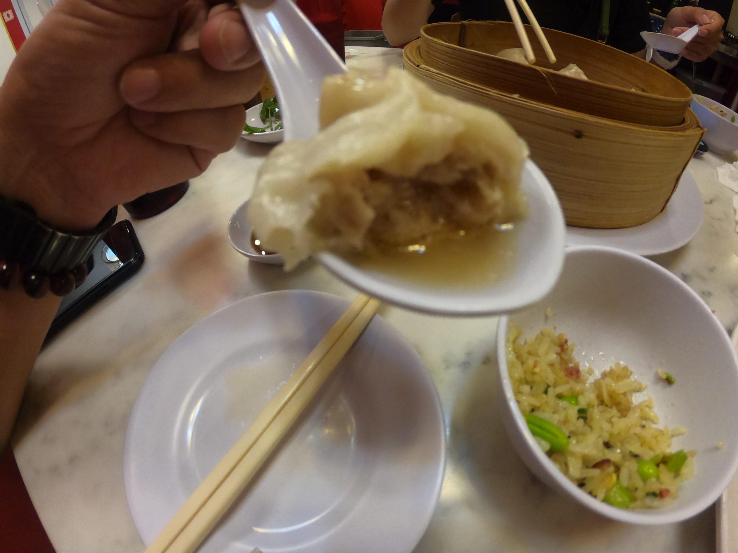 京華小包(ジンファー シャオチー) 食事