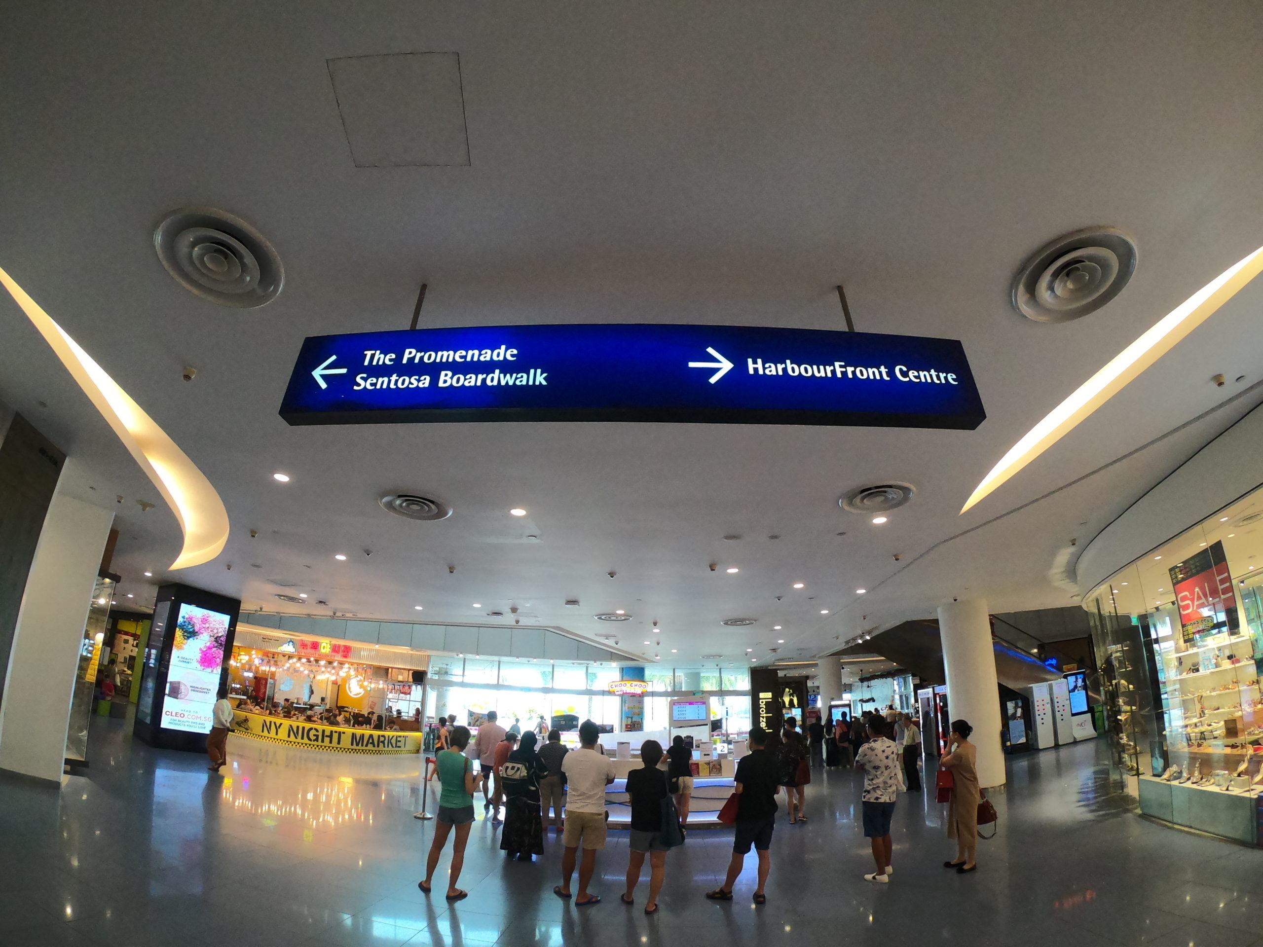 ユニバーサルスタジオシンガポール ベイフロントウォーク
