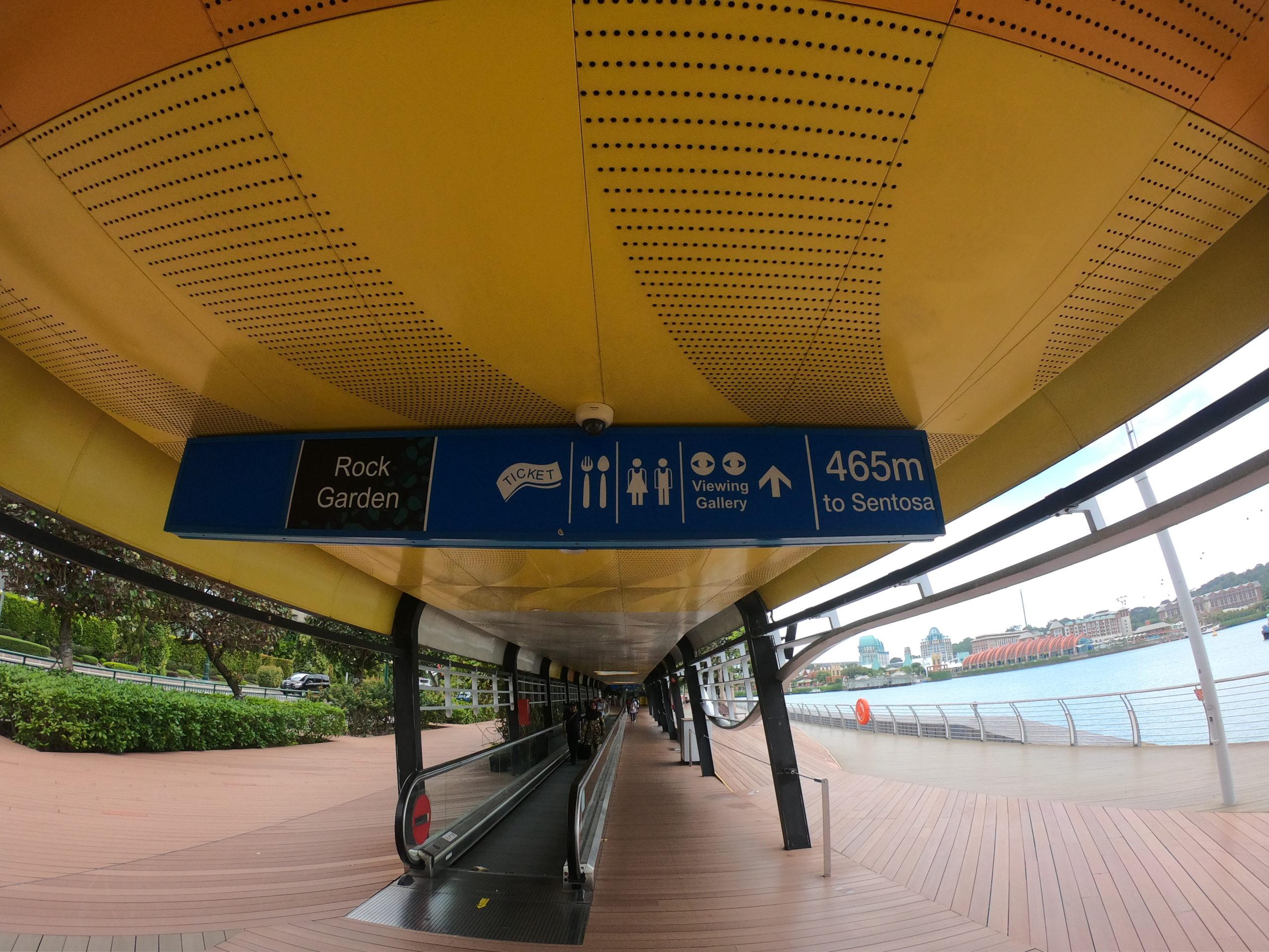 ユニバーサルスタジオシンガポール セントーサ島 行く方法