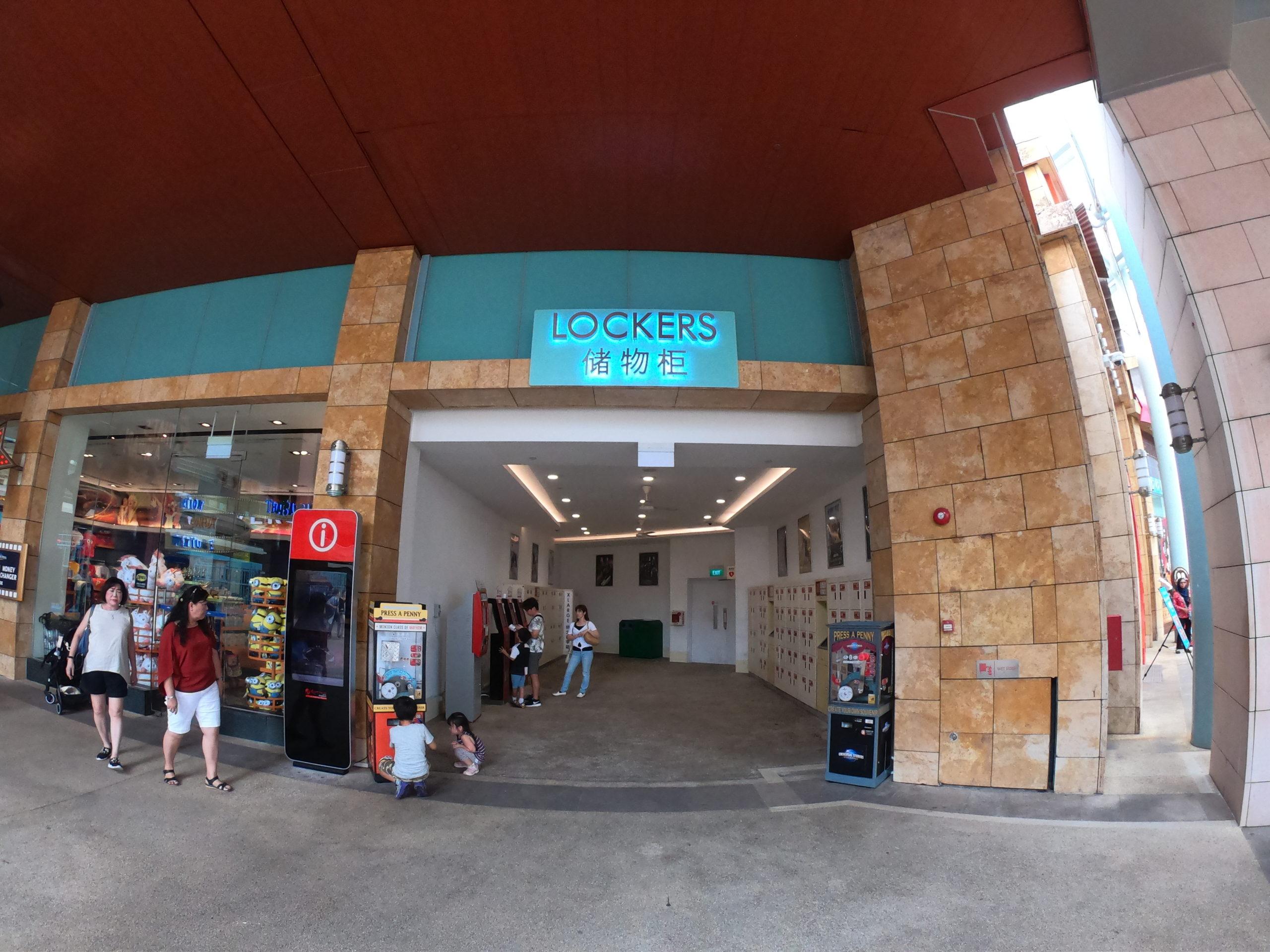 セントーサ島 ユニバーサルスタジオシンガポール