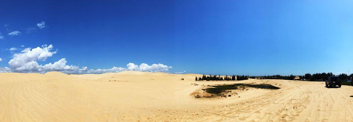 海外 卒業旅行 ベトナム ファンティエット ビーチ 砂漠