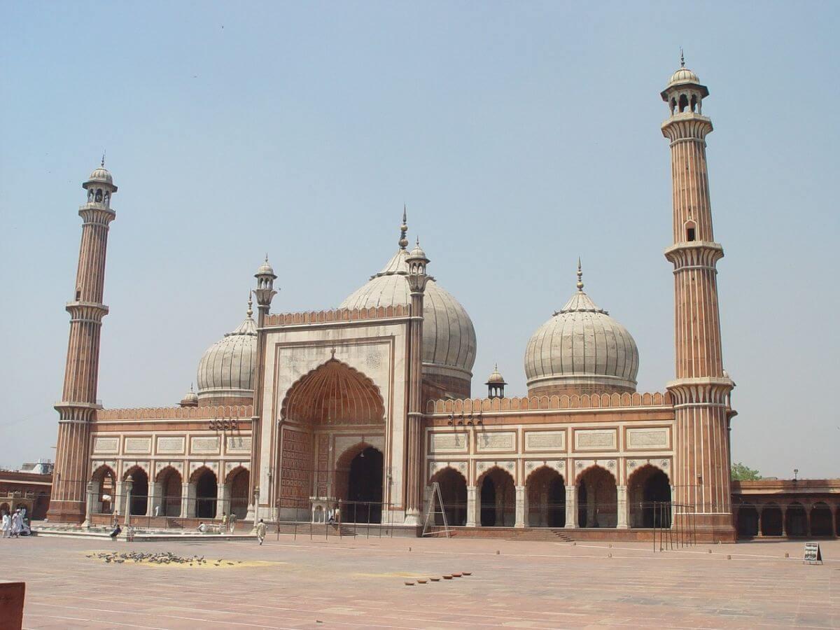 海外 卒業旅行 インド デリー ジャーマー・マスジッド