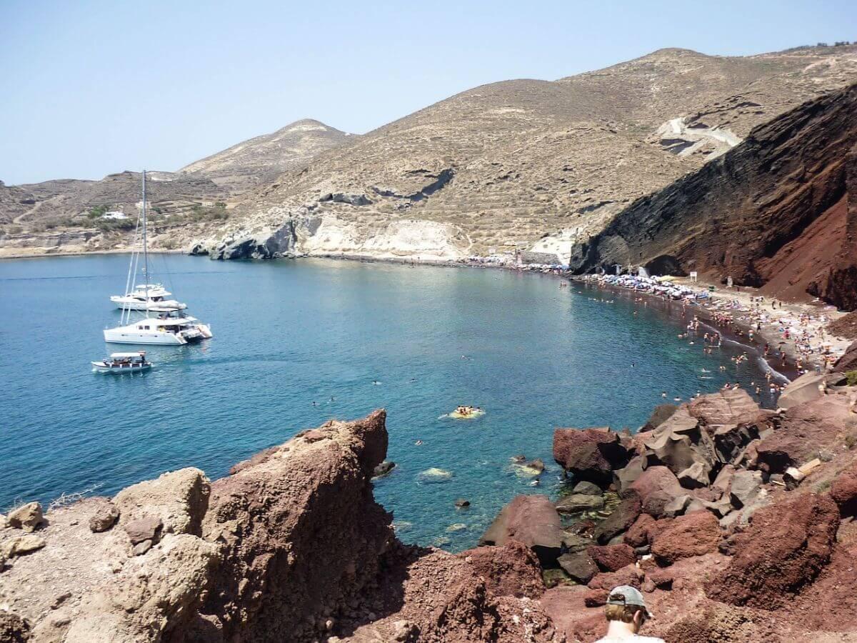 海外旅行 卒業旅行 ギリシャ レッドビーチ