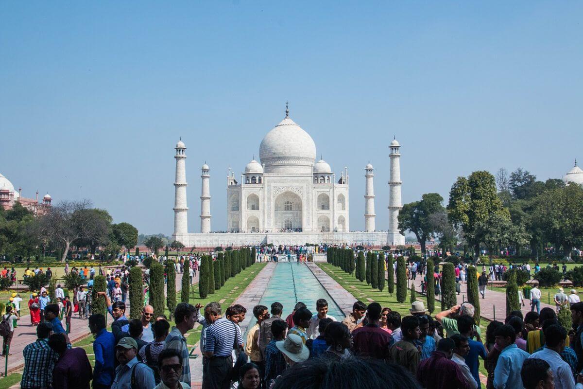 海外旅行 卒業 インド タージマハル