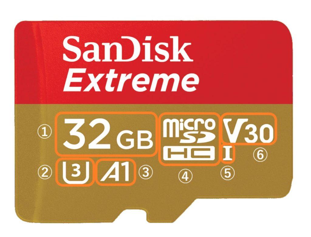 アクションカメラ microSDカード 人気 SanDisk