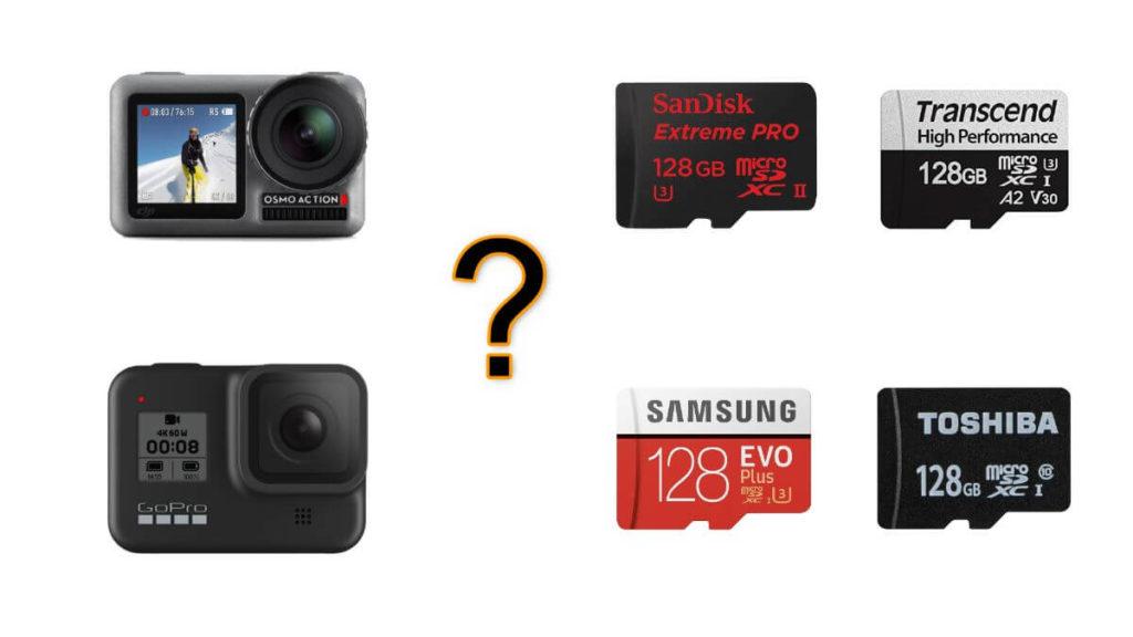アクションカメラ microSDカード おすすめ 人気 相性