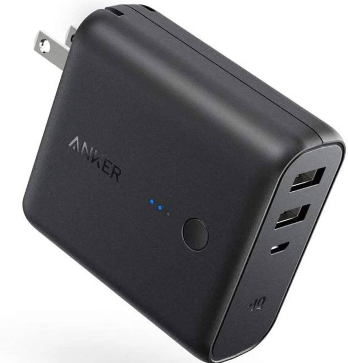 機内持ち込み モバイルバッテリー Anker PowerCore Fusion 5000