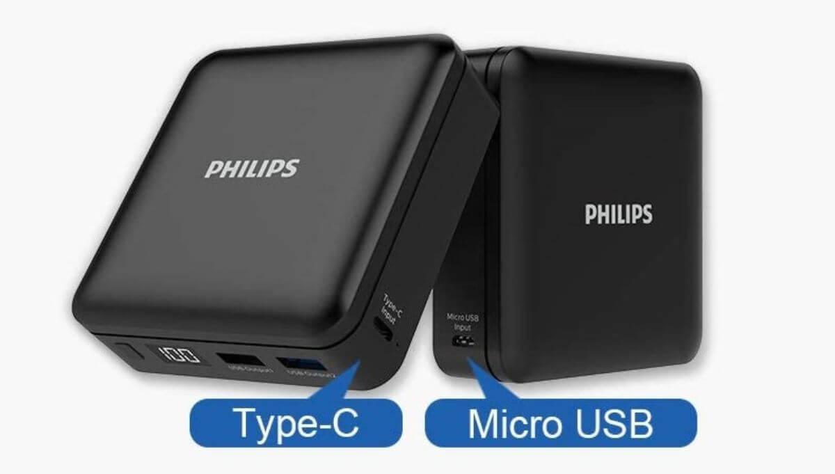 機内持ち込み モバイルバッテリー 20000~27000mAh PHILIPS