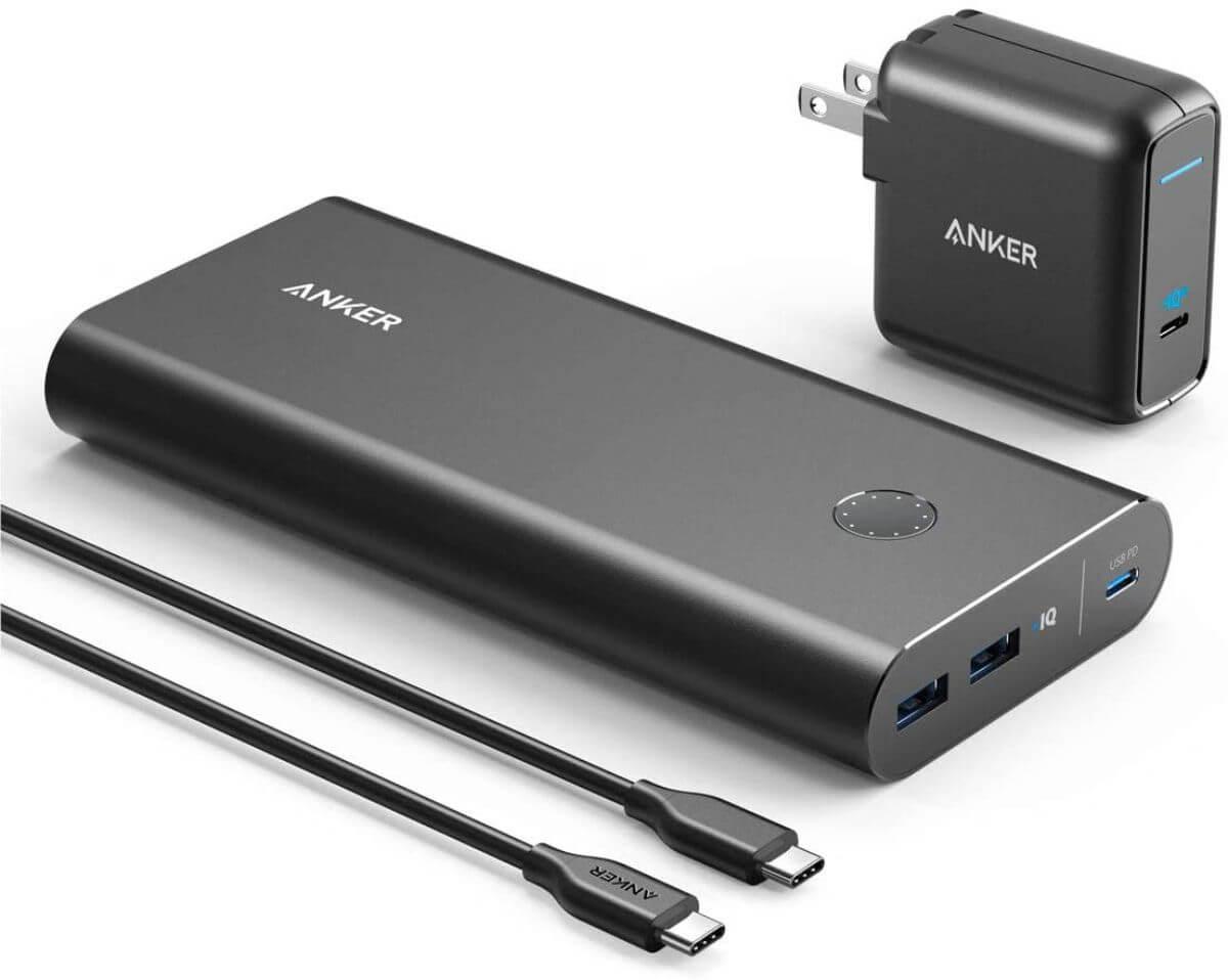 海外旅行 モバイルバッテリー Anker PowerCore+ 26800 PD 45W