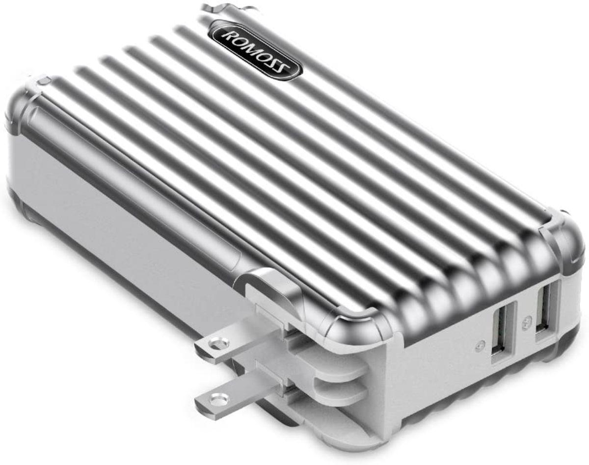 モバイルバッテリー AC充電器 10000mAh