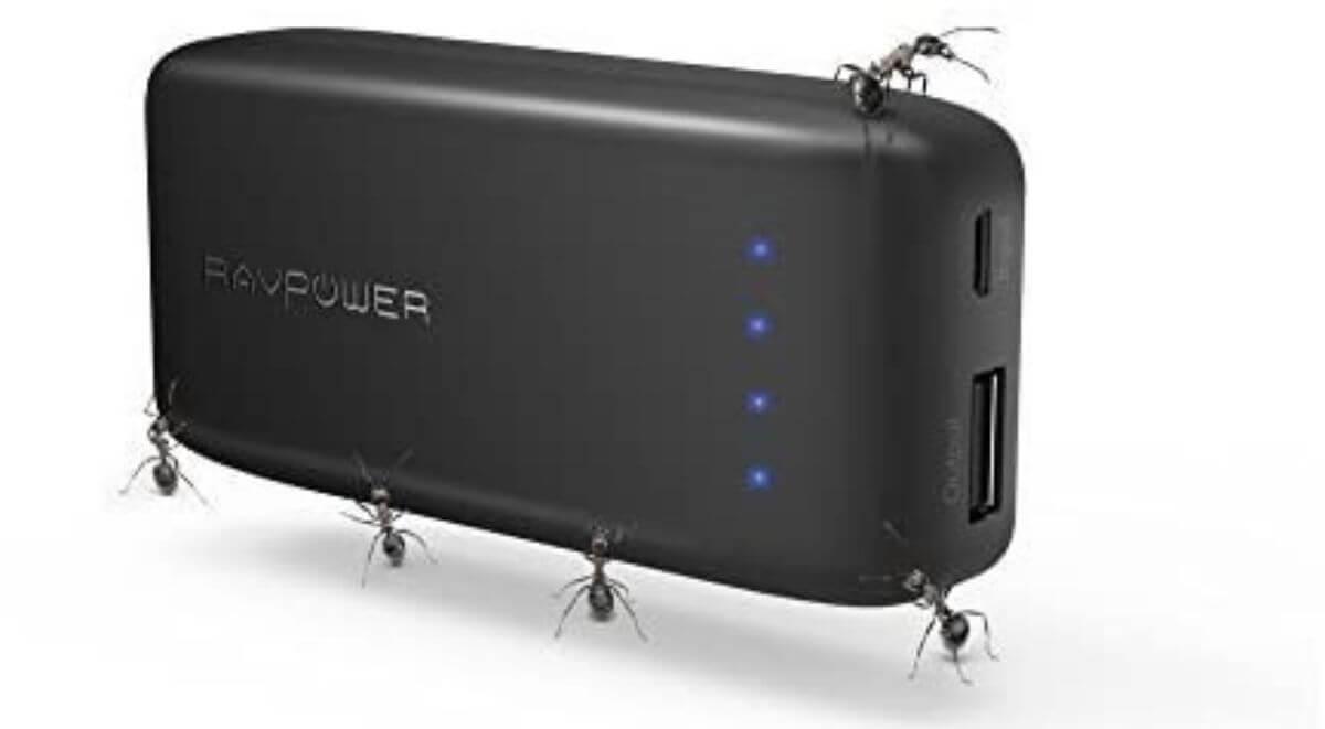 モバイルバッテリー 手のひらサイズ RAVPower RP-PB060 スペックレビュー