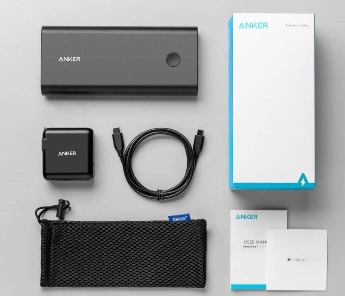 Anker PowerCore+ 26800 PD 45W モバイルバッテリー スペック