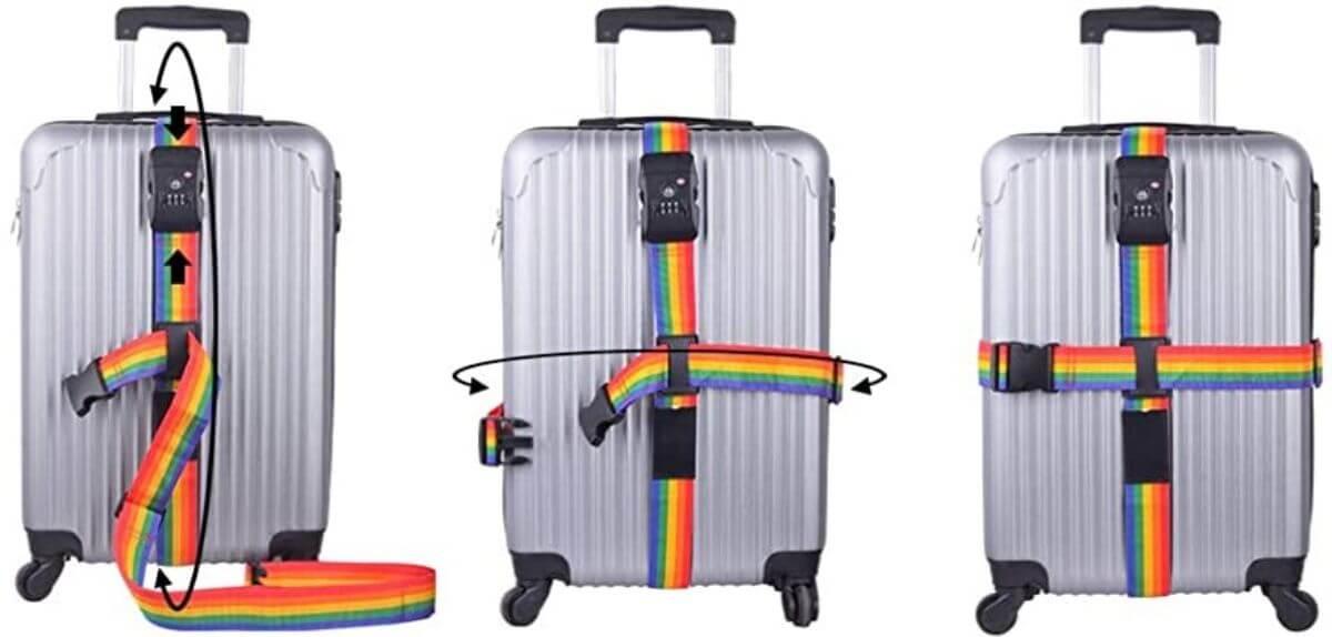 スーツケース ベルト 使い方 クロス式 必要
