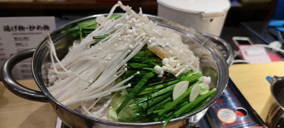 ハノイ 日本食 もつ鍋 鈴の屋 Suzunoya