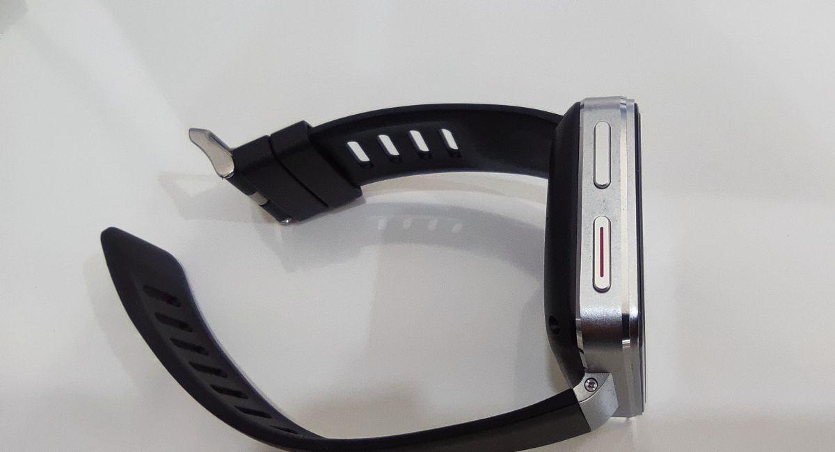 スマートウォッチ TICWRIS MAX S 左側面 電源ボタン