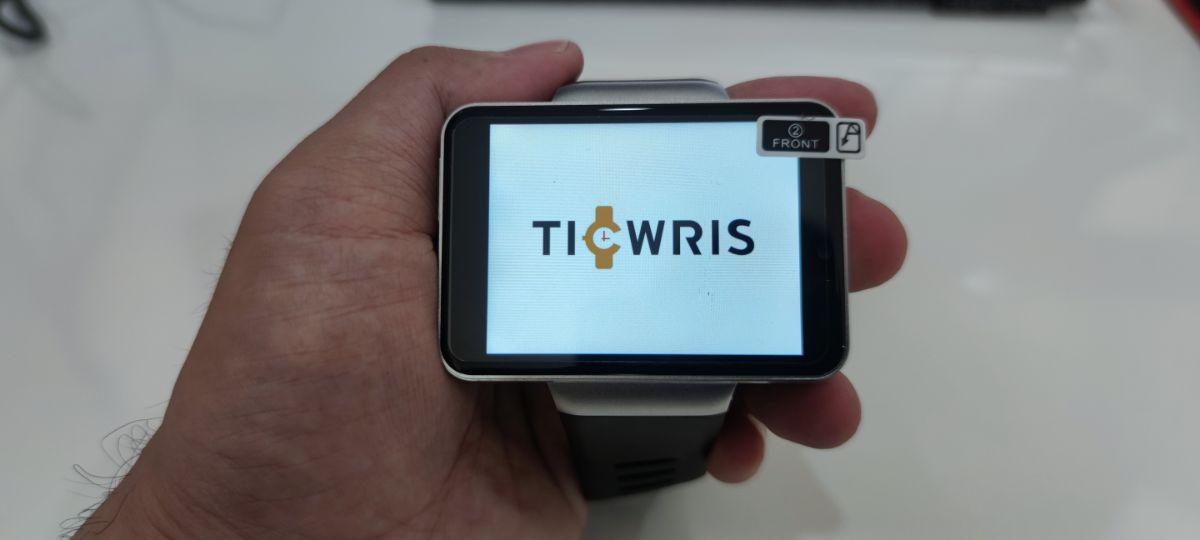 スマートウォッチ TICWRIS MAX S 初期設定